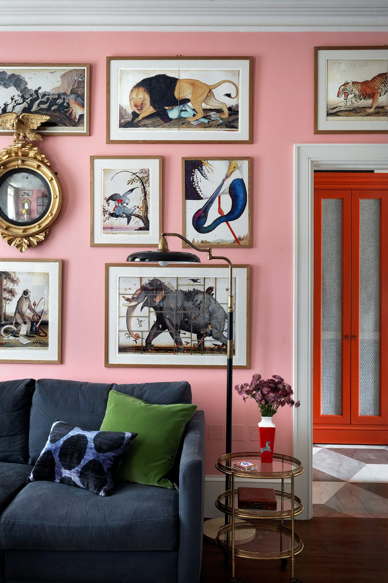 Beata Heuman Every Room Should Sing pink © Simon Brown, Rizzoli