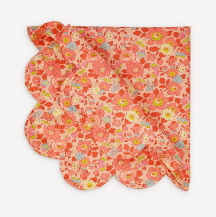 Coco-&-Wolf-Betsy-coral-scallop-napkins,-£34-set-of-2,-LIberty