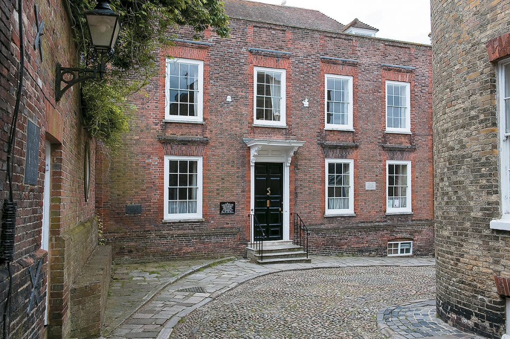 National Trust, Lamb House in Rye, Eat Sussex, exterior