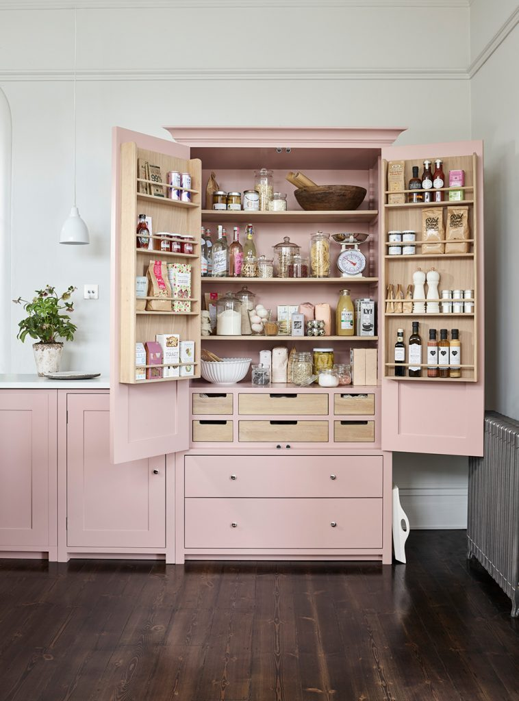 Larder cupboard from the Suffolk Collection kitchen by Neptune