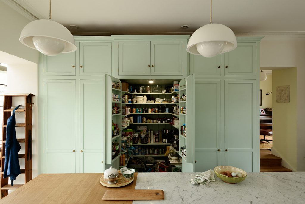The Classic English Kitchen deVOL pantry cupboard