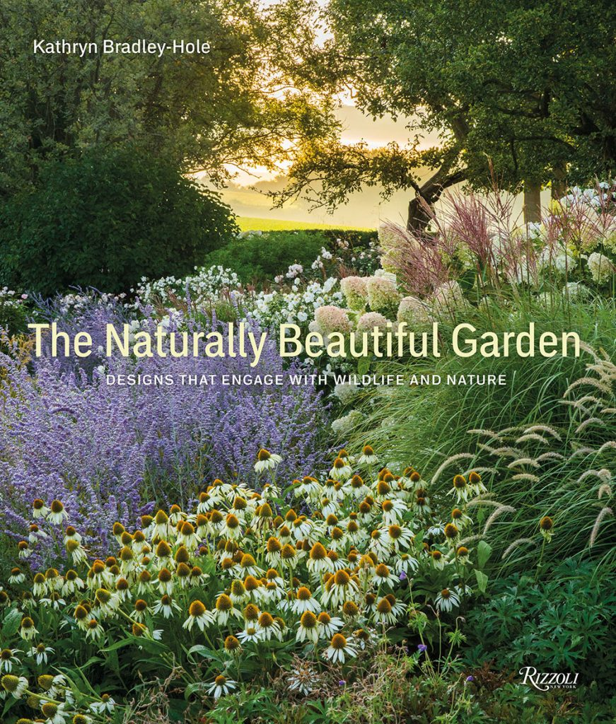The-Naturally-Beautiful-Garden-by-Kathryn-Bradley-Hole-book cover