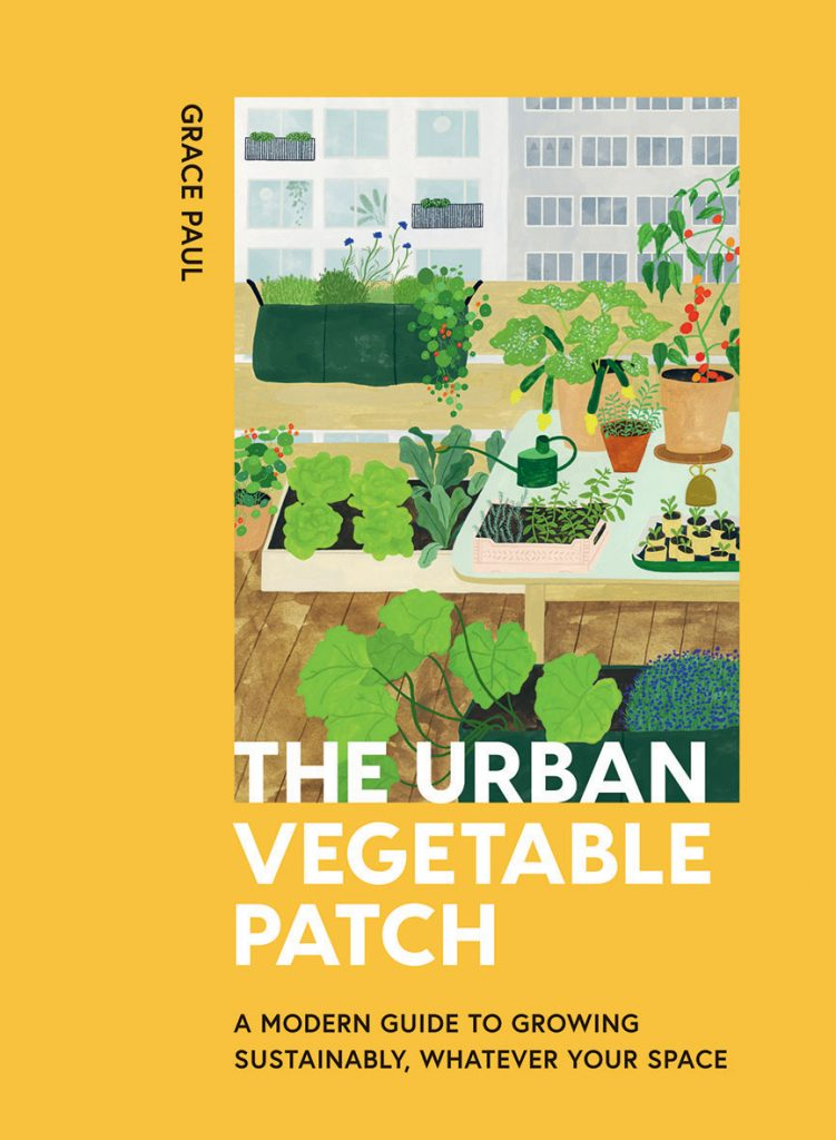 The-Urban-Vegetable-Patch-by-Grace-Paul-book cover