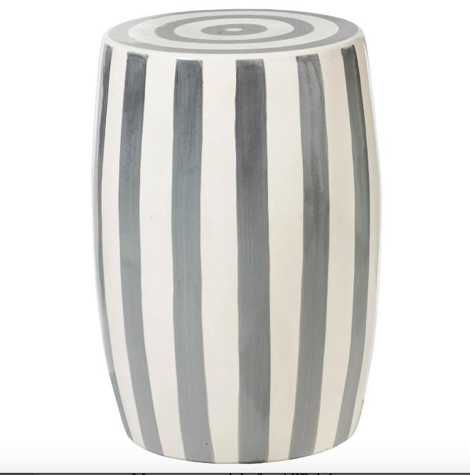 Ceramic Stool, £175, OKA
