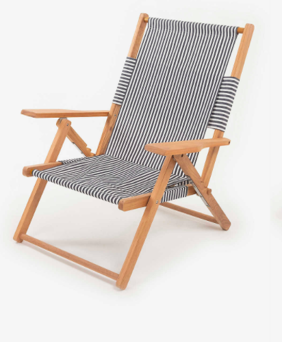 The Tommy cotton and hardwood beach chair, £230, Selfridges