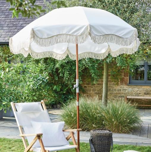 Business & Pleasure x The White Company premium umbrella, £289