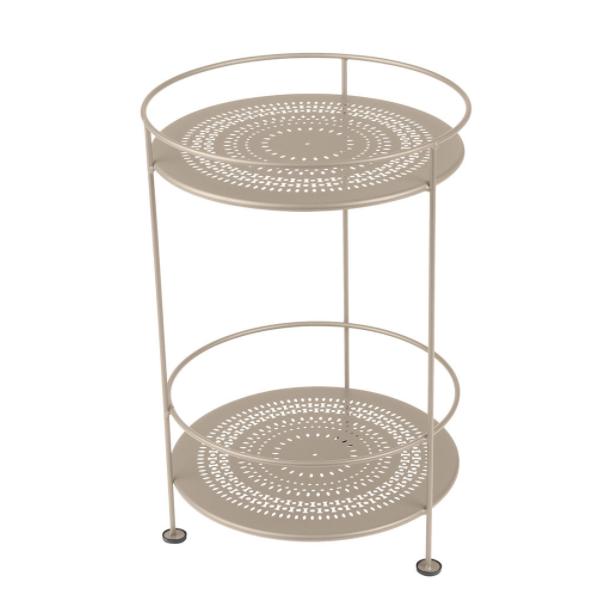 Fermob side table, £145, Amara