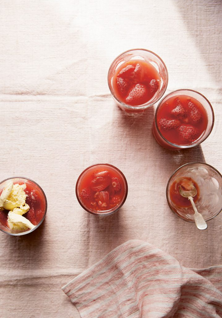 Summer fruit jelly from Sea and Shore by Emily Scott