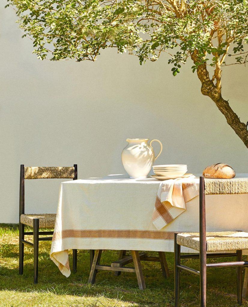 Cotton tablecloth, Zara Home