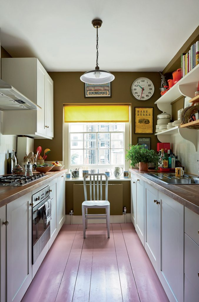 Kitchen at the London home of Ben-Pentreath-and-Charlie-McCormick. Image by-Jan-Baldwin