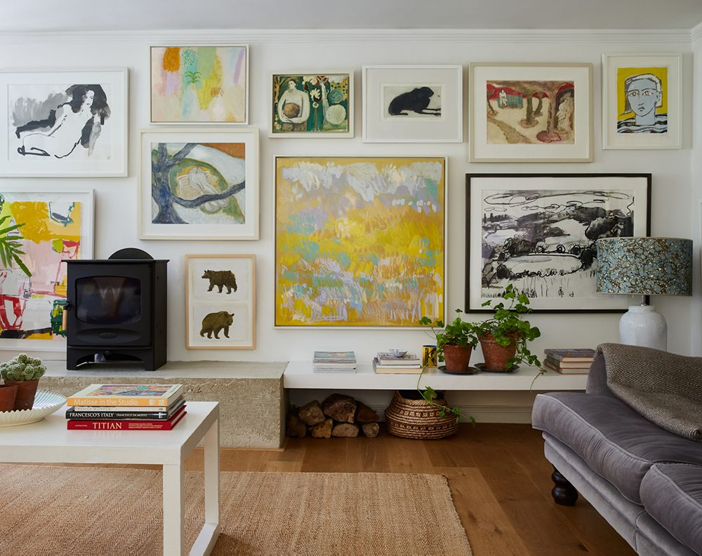 How to Display Art in Your Home