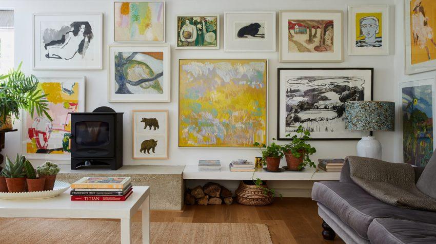 Mylo Art gallery wall sitting room