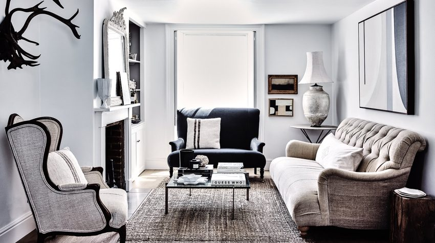 Curate by Ali Heath sitting room landscape © Alun Callender