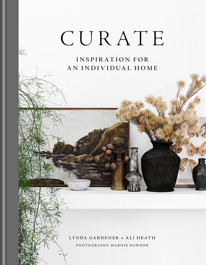 Curate by Lynda Gardener & Ali Heath published by Mitchell Beazley book jacket