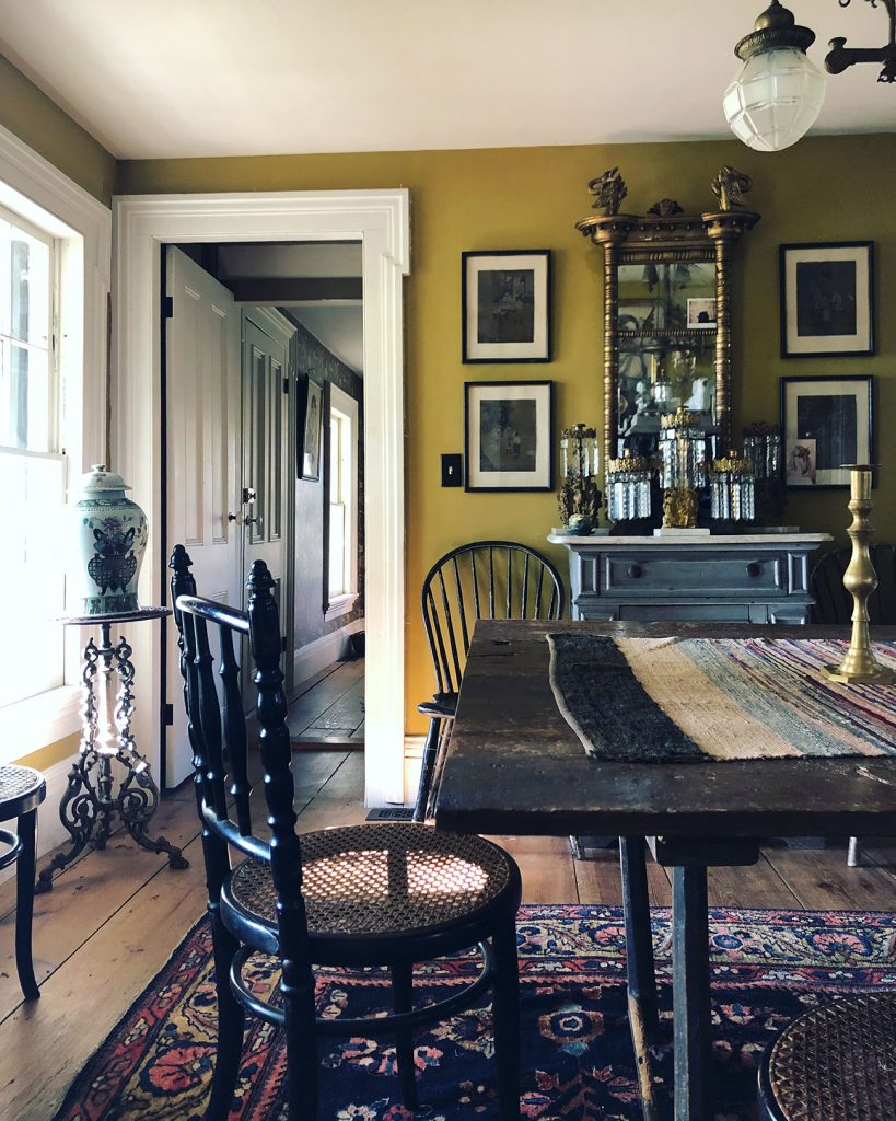 James Coviello dining table