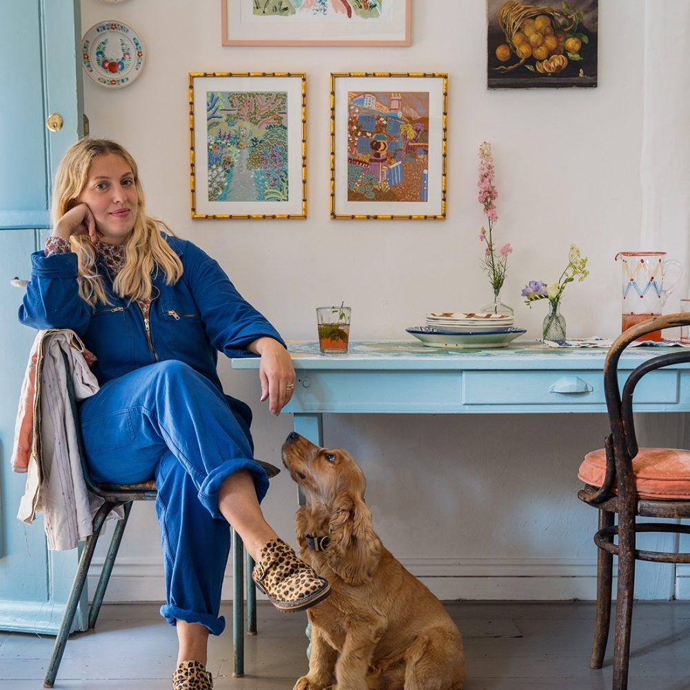 Artist Camilla Perkins on the timeless inspiration of Charleston