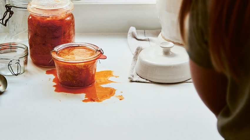 Modern Preserver's Kitchen by Kylee Newton kimchi ©Laura Edwards