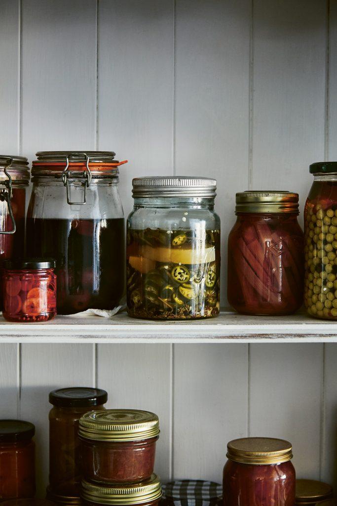 Modern Preserver's Kitchen by Kylee Newton ©Laura Edwards pickles